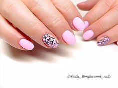 """🌿NAILS ARE MY PASSION on Instagram: """"Perfect Pink Nails 💅🏻💕"""" Perfect Pink, My Passion, Pink Nails, Manicure, Beauty, Instagram, My Crush, Nail Bar, Nails"""