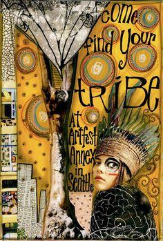 Artfest Annex Open House | teesha's circus.    very much like anahata katkin!