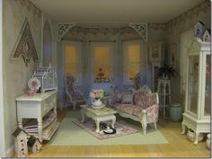 Diane Melcher's shabby cottage