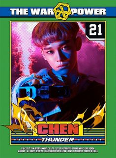 #EXO #POWER #CHEN #Jongdae #THEWAR : #ThePowerOfMusic