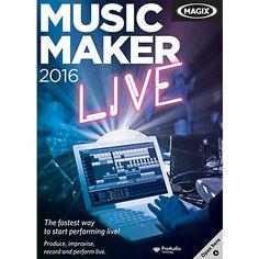 Magix Music Maker 2016 Live Full 22.0.3.63
