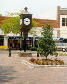 Downtown Sanford, FL Clock