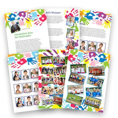 Sample pages from the new handprint theme :)