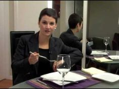 Dining Etiquette - European vs. American Dining Style - YouTube