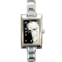Bryan Adams 2 Rectangular Italian Charm Watch