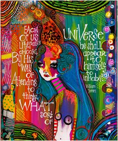 Teesha Moore. love her collage and lettering.