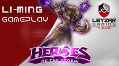 Heroes of the Storm (Gameplay) - Li-Ming, Teleport Build (PTR HotS Quick...