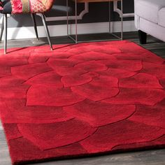 Area Rugs For Sale, Rug Sale, Wool Area Rugs, Blue Area Rugs, Wool Rugs, Red Home Decor, Black Decor, Rug Texture, Rugs Usa