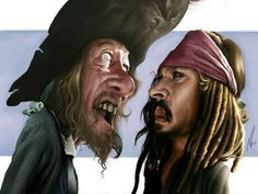 Pirates Of The Caribbean by Alex Gallego