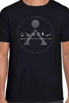 T-Shirt pour film design Stargate Earth Symbol