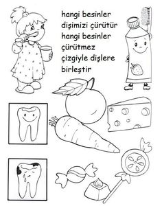 Dental Activities for Kids - Todo Sobre La Salud Bucal 2020 Playdough Activities, Activities For Kids, Dental Art, Little Learners, Hygiene, Reading Skills, Dental Health, Health Education, Healthy Kids