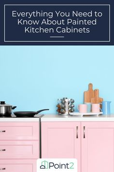 """Whether you're dreaming of classic white or a pretty hue, painting your cabinets can have a big impact. But painting cabinets isn't quite as simple as painting a wall. Here's what you need to know to get it done right and ensure your """"new"""" cabinets will look great for years to come. Home Design Decor, House Design, Home Decor, New Cabinet, Painting Kitchen Cabinets, Classic White, Getting Things Done, Need To Know, Hue"""
