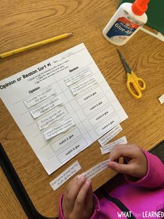 Kids have lots of opinions!  Help students construction opinion paragraphs that state their opinions, give reasons, and provide a concluding statement through interactive discussions and games.