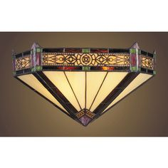 Westmore Lighting�Filigree 14-in W 2-Light Aged Bronze Tiffany-Style Pocket Hardwired Wall Sconce