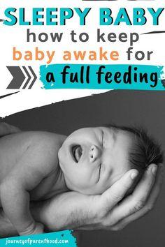 Keeping a Sleepy Newborn Awake… #newbornsleep Co Sleeping With Newborn, Newborn Sleeps All Day, Newborn Nursing, Newborn Care, Breastfeeding Baby, Putting Baby To Sleep, Healthy Pregnancy Tips, Jeep Baby, Baby Care Tips