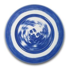 Robert Dawson, Spin, cobalt blue print on bone china Ceramic Plates, Ceramic Art, Tea Illustration, How To Make Brown, Willow Pattern, Contemporary Ceramics, Clay Projects, Color Themes, Art Inspo