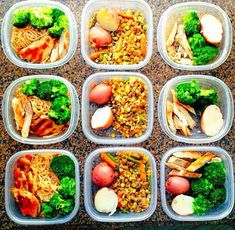Meal prep; every day of every week