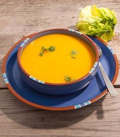 Zucchini - Möhren Suppe
