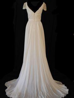Reem Acra Olivia Wilde Size 2 Wedding Dress – OnceWed.com