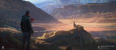 Today we would like to introduce the art of G. Host Lee, a Chinese concept art artist