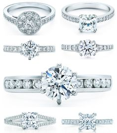Tiffany & Co.  engagement rings   http://www.tiffany.com/