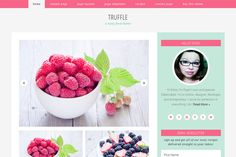 Truffle // Genesis Theme by Hunniemaid on Creative Market