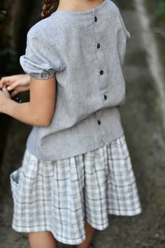 blouse {firenze}  jupe {siena}  (photo Christelle Claude)