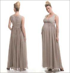 Modelos de Vestidos para Gestantes Curtos e Longos