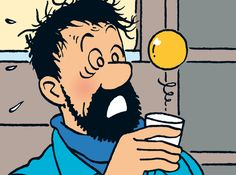 Captain Haddock's Scotch - Explorers on the Moon