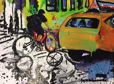 Pathway Urban Life, Pedestrian, Pathways, Paintings, Artwork, Work Of Art, Paths, Painting, Draw