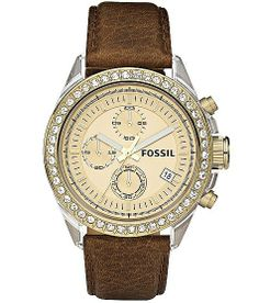 Fossil Decker Chronograph Watch - Women's Watches | Buckle