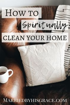 File this under: life hacks. Spring is here, or at least for some of us, and that means lots of cleaning. Christian Women, Christian Living, Christian Life, Christian Marriage, Spiritual Life, Spiritual Growth, Spiritual Health, Spiritual Warfare Prayers, Spiritual Cleansing