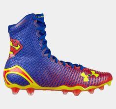 c384eb5bee3 Men s Under Armour Alter Ego Superman Highlight Football Gloves