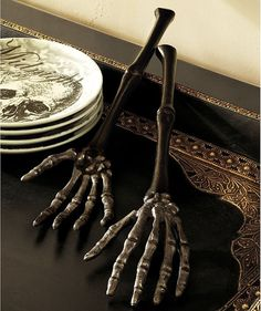 gothic tableware cutlery | Cutlery and Silverware for the Goth Table | Upon a Midnight Dreary