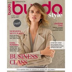Burda Style n°205 - Janvier 2016 : Business class