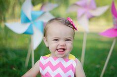 Happy 1st birthday little Aria! :)