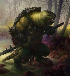 Poxnora art | Some more chaos | Pinterest | Tortoises, Warriors ...