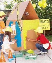 Design Dazzle: Construction Party Ideas...