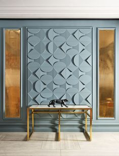 Eye-catching decoration for your home doesn't have to be expensive at all. Let your imagination run wild and bring each wall to life with Wall Panels. Classic Interior, Modern Interior, Interior Design, Design Design, 3d Wandplatten, Wall Panel Design, Wall Texture Design, Orac Decor, 3d Wall Panels