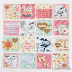 Sugar & Spice Layout by Zoe Pearn | That's My Girl | Cocoa Vanilla Studio