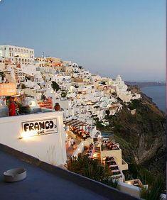 Francos bar Santorini, Bar, Santorini Caldera