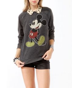 Mickey Mouse Pullover, I have no words to express my joy in your arrival.