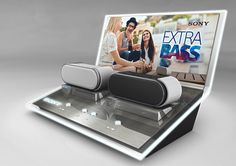 Portable Audio Display for Sony on Behance