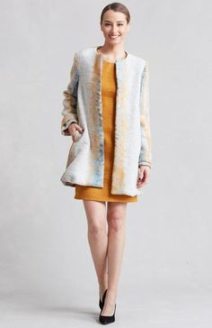 Our Valencia Coat is sure to add a little something extra to all your Fall and Winter outfits! Designed by Lauren Conrad. Made in the USA