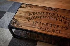Pretty awesome coffee table