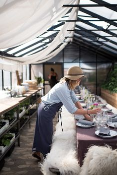 Stedsans in Copenhagen is a rooftop restaurant with heart and mind in the right place - collaboration with tinekhome. Photo by Charlotte Dupont