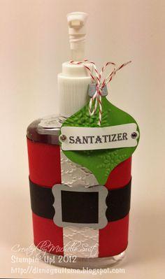 Full size santa tizer