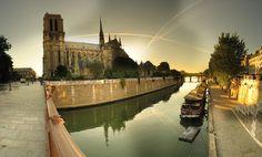 Notre-Dame et le square JeanXXIII