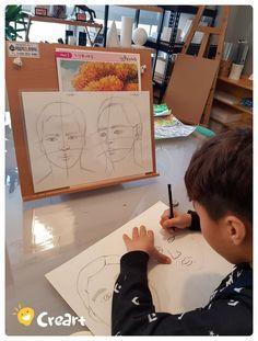 자유 드로잉수업 (7세~초등) [시흥시 정왕동 배곧 미술학원 - 창의미술 크리아트] : 네이버 블로그 Projects For Kids, Art Projects, Crafts For Kids, Kids Art Class, Art For Kids, Body Study, Art Rules, High Art, Art Lesson Plans