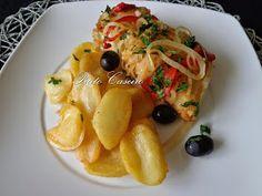 Piri Piri, Cod Fish, Portuguese Recipes, Seafood, Spaghetti, Chicken, Ethnic Recipes, Main Courses, Dinner Ideas